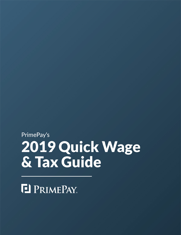 2019 Quick Wage & Tax Guide