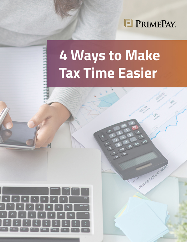 4 Ways to Make Tax Time Easier