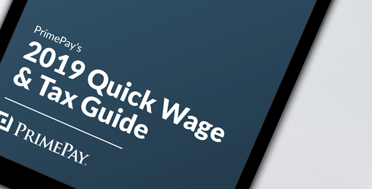 Free Download: 2019 Quick Wage and Tax Guide