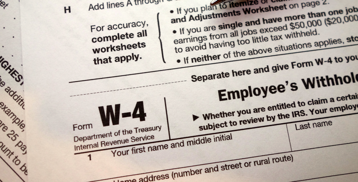 IRS Seeking Feedback on Proposed Form W-4