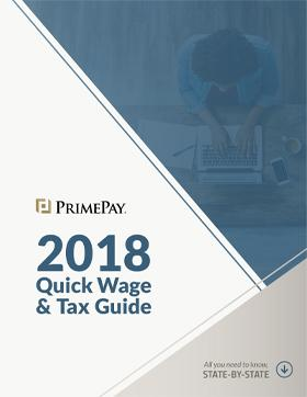 2018 Quick Wage & Tax Guide