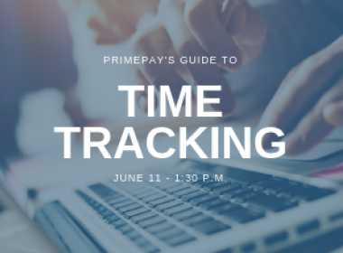 Webinar: PrimePay's Guide to Time Tracking
