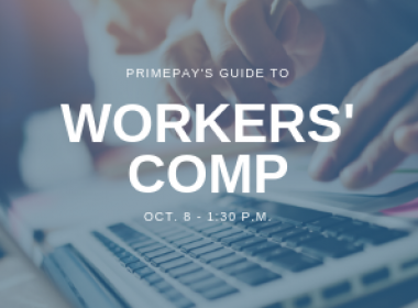 Webinar: PrimePay's Guide to Workers' Comp
