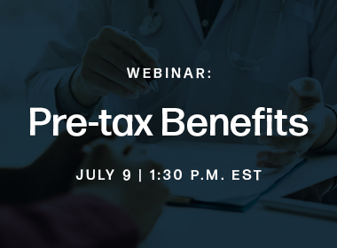 Webinar: PrimePay's Guide to Pre-tax Benefits