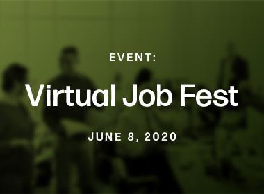 Virtual Job Fest 2020: West