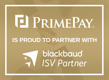 PrimePay Joins Blackbaud Partner Network as a Technology Partner