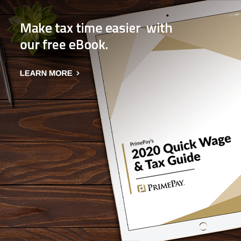 Image of 2020 Quick Wage & Tax Guide.