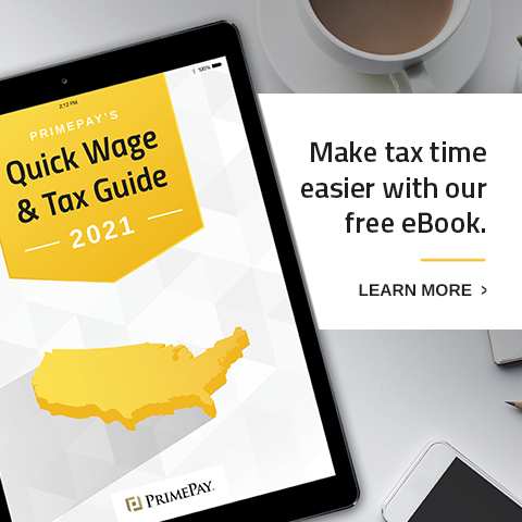 Image of 2021 Quick Wage & Tax Guide.