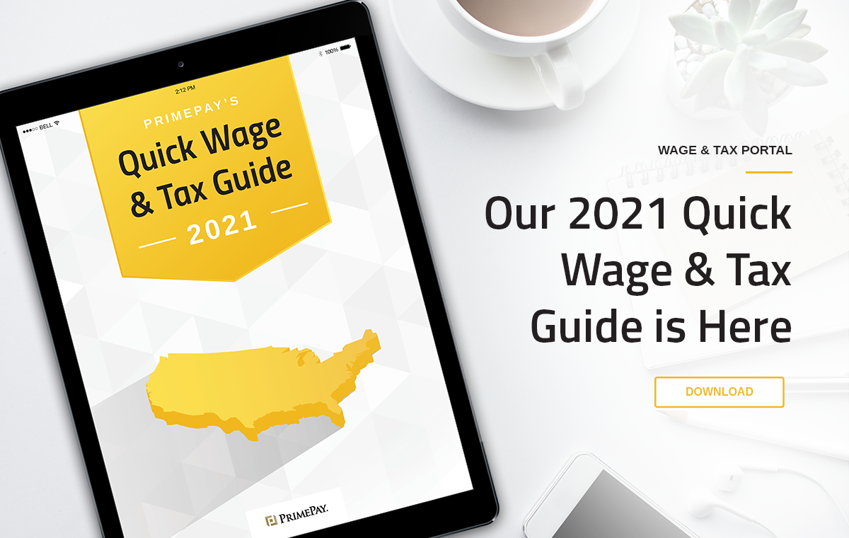 Wage & Tax Guide | PrimePay